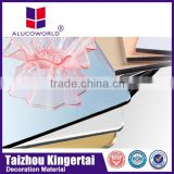 Alucoworld lightweight best price aluminium honeycomb cladding acp panel