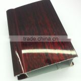 Anodized/Anodizing Powder Coating Wood Grain/Finish Polished Silver/Gold/Champagne/Black aluminum extrusion profiles