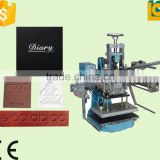 Dongguan manual hot foil stamping machinefor leather alphabet embossing machine TH-310-1