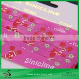Sinicline Factory Printed Satin Ribbon for Gift or Handcraft