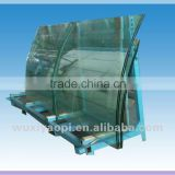12mm thick bent toughened glass with good price and quality