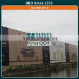Oem nice design outdoor advertising building wrap