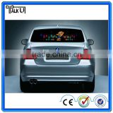 Flashing el/led pannel audio car equalizer sticker for car glass, customized led lighting car sticker painting el sticker