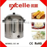 40L Stainless Steel Electric Sweet Corn Food Steamer for cooking equipment                                                                         Quality Choice