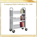library cart book cart v cart school book trolley moving book cart moving book cart made in henan book storage cart
