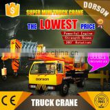 DORSON used truck crane 16 ton used truck mounted crane/12 ton used truck with crane for sale