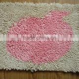 chenille mat for both bedroom and Bath room
