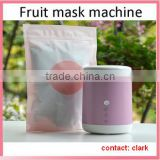 2015 pink womens fruit mask machine for home use