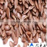 golden/brown organic flax seeds