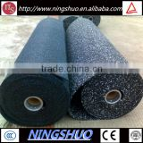 Trade assurance rubber flooring type gym mat, gym floor roll mat