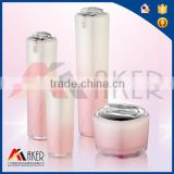 luxury cosmetic packaging for sale, acrylic cosmetic packing, empty plastic cosmetic bottle