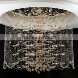 Crystal ball pendant light unique fish chandelier 2015 new popular light