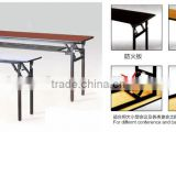 Premier Plywood Folding Seminar Laminate Top Rectangular Table Heavy duty Folding Banquet Table Top Rectangular Banqueting