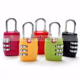 Wholesale 3-dial Digital Password cute Code number Travel Luggage combination iron padlock