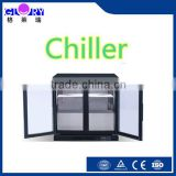 Back Bar Cooler/Back Bar Refrigerator/Glass Door Bar Fridge