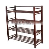 High Quality Home Shoes Rack\Wood Frame Shoes Rack\One Floor Chrome Plated Finish Shoes Rack