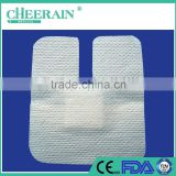 spunlace non-woven iv dressing wound care dressing for fixing catheter