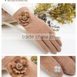 Hot New Wool Knit Lady Gloves Fashion Gloves For 2015