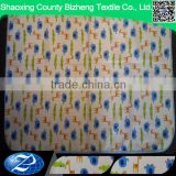 cotton flannel with nylon waterproof fabric for baby rubber diaper changing mat