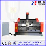 High Quality 4 Axis Stone CNC Carving Machine ZK-1325 For Marble With PCI NcStudio Control System