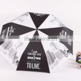 china supplier advertising product wholesale cheap Heat Transfer Printing folding Umbrella