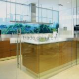 Kitchen Glass Partition Wall YG-P066