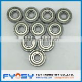 deep groove ball bearing 608ZZ 608-2RS single row ball bearing 8X22X7MM miniature deep groove ball bearing