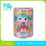 2015 New !Eco-friendly Baby Button Girl( the fairy doll series) with wing barbie doll (2 model mixed)