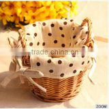 Bamboo Basket Cheap Wicker Crafts Basket For Chrismas