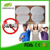 China manufacturer provide OEM Services disposable armpit sweat pads