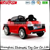 outdoor ride on toy car Hot Selling 1:4 RC Electric Kids Ride On Car with Light and MP3