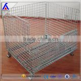 warehouse storage cage mesh liquor Heavy Duty security wire cage metal bin storage cage factory supplier