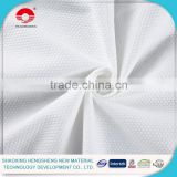 spunlace nonwoven fabric for individually wrapped wet wipes
