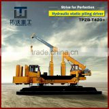 Brand New Hydraulic precast pile driving machine TPZB420+