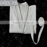 trendy design high quality 100%cotton hotel bathrobe