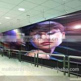 55 Inch Wall mount videowall system lcd video wall with video wall monitor for live broadcast