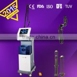 Tattoo /lip Line Removal Co2 Fractional Laser Equipment Beauty Spot 10600nm Scar Pigment Removal Parlor Instrument Derma Laser Machine Birth Mark Removal
