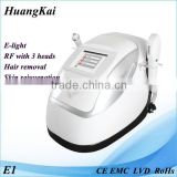 Portable Rf Skin Tighten Beauty Equipment Ipl Laser Hair Removel Machine For Sale/ipl Photofacial Machine Skin Lifting