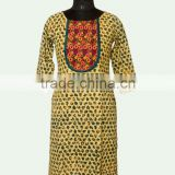 Embroidered Colourful Kurti