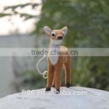 Taxidermy deer unstuffed animals real looking deer hanging toy