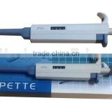 Laboratory Volume Mechanical Pipette Pens with Fixed and Adjustable