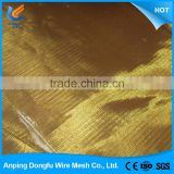 lowest price custom design braided copper wire mesh china supplier export copper wire mesh