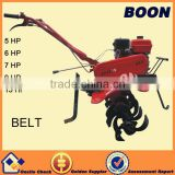 Belt transmission 170 F (7 HP)gas engine small power tiller