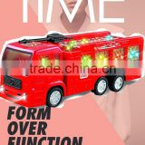 2015HOT NEW CHEAP ELECTRIC PLASTIC FIRE TRUCK WITH SOUND AND LIGHT WHOLESALE FOR KIDS GIFTS FROM CHINA ICTI MANUFACTURE