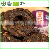Chinese cooked pu-erh tea leaves Yunnan puer Delicious sweet Glutinous rice sweet tuo tea crude ripe tea