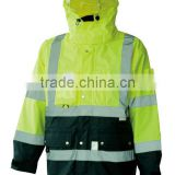Hight Vis Safety Padded 3 in 1 Jacket