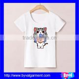 Hot selling kids clothes high quality 100% cotton short sleeve t-shirt custom kids printed t shirt
