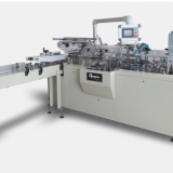 Automatic high speed facial tissue boxing and sealing machine
