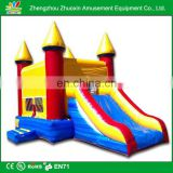 Durable 0.55 mm PVC commercial indoor inflatable slide