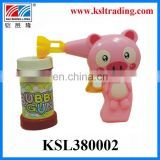 Summer toy cartoon style bubble gun toys